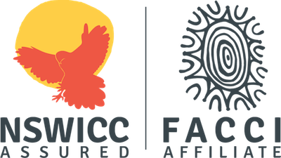 NSWICC & FACCI ASSURED Logo - Light Background